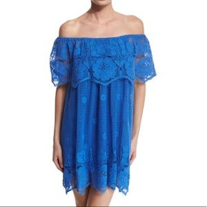MIGUELINA lace cover-up/dress